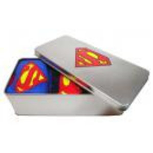 Merchandising SUPERMAN - Pack 3 Socks in a Tin (41-46)