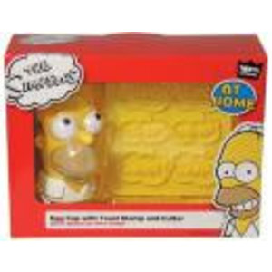 Merchandising SIMPSONS - Egg Cup and Toast Cutter