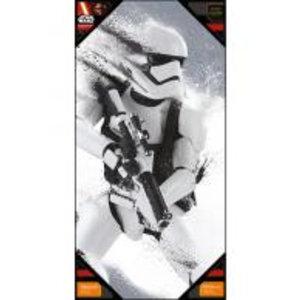 Merchandising STAR WARS 7 - GLASS POSTER - Stromtrooper Snow - 50X25 cm