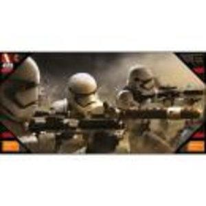 Merchandising STAR WARS 7 - GLASS POSTER - Stormtroopers Battle - 50X25 cm