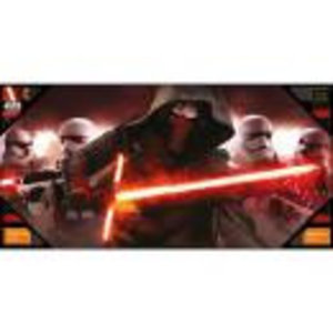 Merchandising STAR WARS 7 - GLASS POSTER - Kylo and Stormtroopers - 50X25 cm