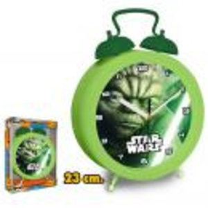 Merchandising STAR WARS - Wall Clock - Yoda (23 Cm)