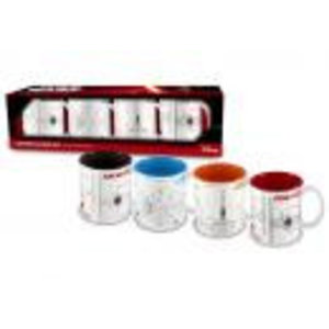 Merchandising STAR WARS 7 - Set of 4 Espresso Mugs (SW Blueprint)