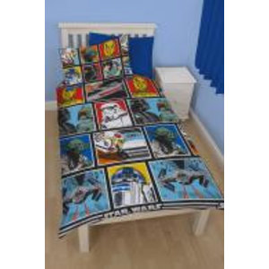 Merchandising STAR WARS - Bed cover 135X200 - CLASSIC FORCE 02 (Microfibre)