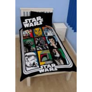 Merchandising STAR WARS - Bed cover 135X200 - CLASSIC FORCE 01 (Poly Cotton)