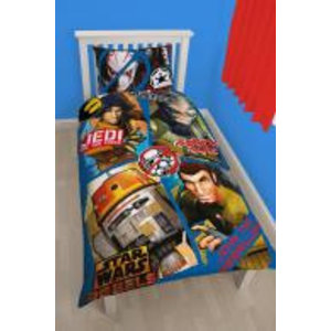 Merchandising STAR WARS - Bed cover 135X200 - REBELS  TAG 01 (Poly Cotton)