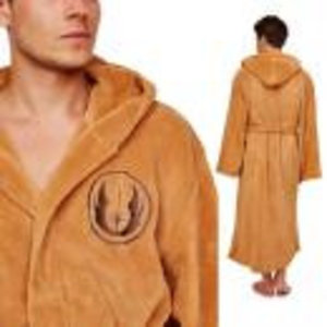 Merchandising STAR WARS - Bathrobe - Jedi Tan Logo - Adulte - Taille Unique