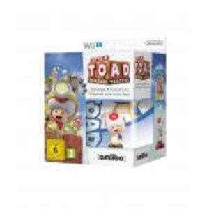 WiiU Captain Toad Treasure Tracker + Amiibo