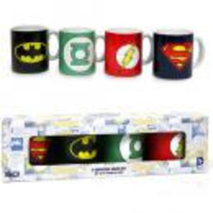 Merchandising DC COMICS - Set of 4 Espresso Mugs