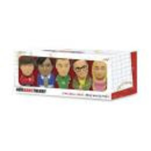 Merchandising BIG BANG THEORY - Set of 5 Mini Stress Dolls 8 Cm
