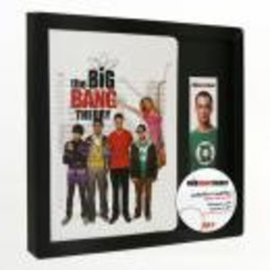 Merchandising BIG BANG THEORY - GIFT SET Notebook + Magnetic Bookmark