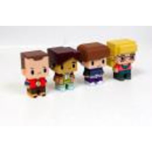 Merchandising BIG BANG THEORY - Set of 4 PIXEL Figures - Model 2