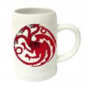 Merchandising GAME OF THRONES - Beer Stein - Fire and Blood Targaryen Ceramic