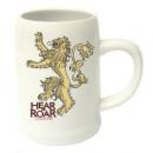 Merchandising GAME OF THRONES - Beer Stein - Hear Me Roar Lannister Ceramic