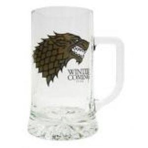 Merchandising GAME OF THRONES - Beer Stein - Stark Crystal