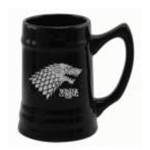 Merchandising GAME OF THRONES - Beer Stein - Stark Black Ceramic