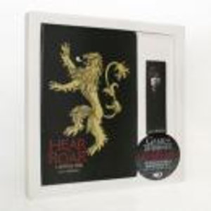 Merchandising GAME OF THRONES - GIFT SET Notebook + Magnetic Bookmark - Lannister
