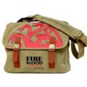 Merchandising GAME OF THRONES - Messenger Bag - Targaryen Canvas