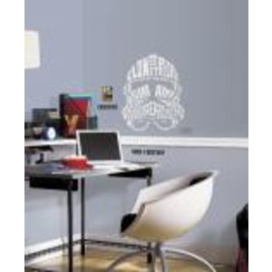 Merchandising STAR WARS - Wall Decals - Typographic Clone Trooper