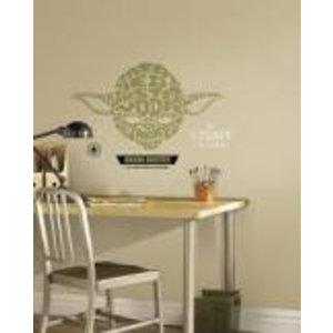 Merchandising STAR WARS - Wall Decals - Typographic Yoda