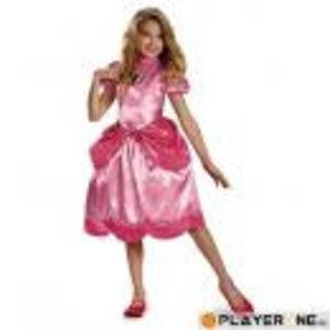Merchandising NINTENDO - Disguise Princess Peach Clasic (7-8 years)