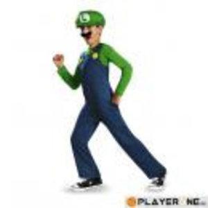 Merchandising NINTENDO - Disguise Luigi Clasic (10-12 years)