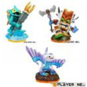 Skylanders Giants Skylanders Giants Figurine : Triple Pack D : FLASHWING/GILL/DOUBLE