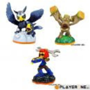 Skylanders Giants Skylanders Giants Figurine : Triple Pack C : SPROCKET/SONIC/STUMP
