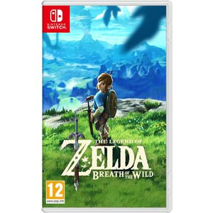 Switch Zelda Breath of The Wild