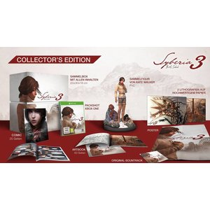 XONE Syberia 3 Collector Edition
