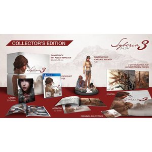 PS4 Syberia 3 Collector Edition