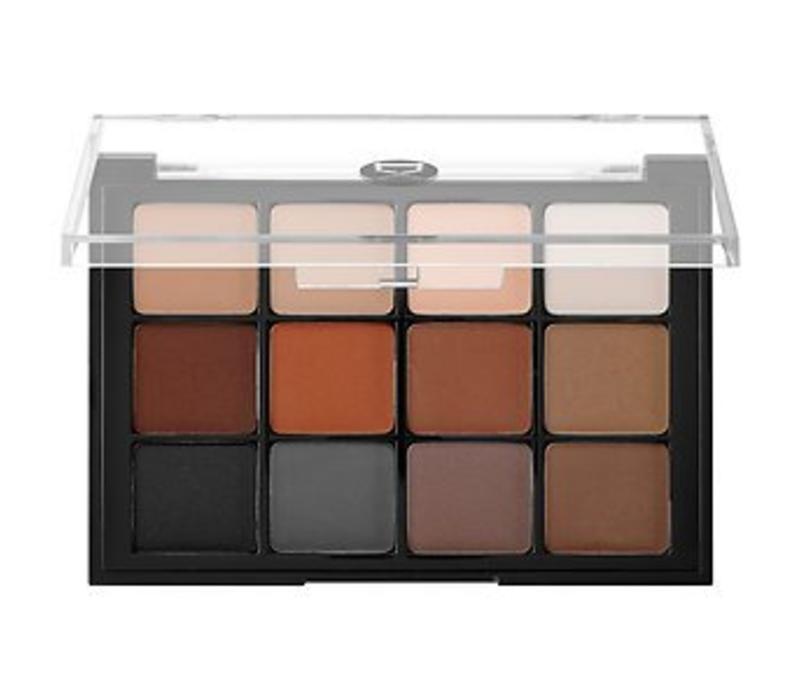 Viseart 12 Eyeshadow Palette 01 Basic matte