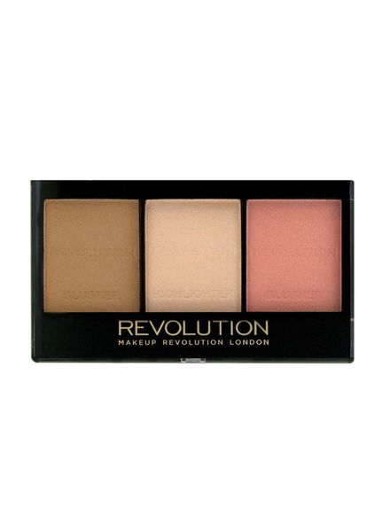 Makeup Revolution Makeup Revolution Ultra Brightening Contour Kit Ultra Fair C01