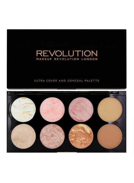 Makeup Revolution Makeup Revolution Ultra Blush Palette Golden Sugar