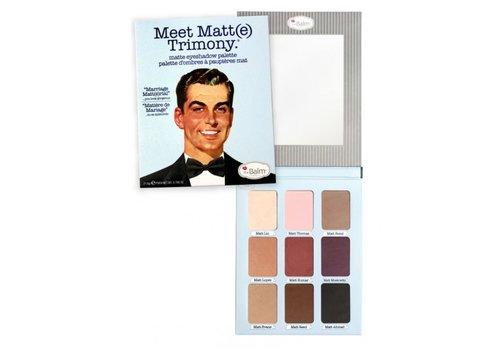 TheBalm Meet Matte Trimony Palette