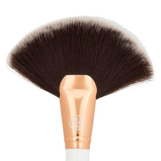 Boozy Cosmetics Rose Gold BoozyBrush 3500 Fan Brush