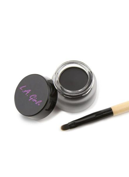 LA Girl Cosmetics LA Girl Gel Liner Kit Jet Black