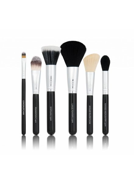 Boozy Cosmetics BoozyBrush 6 pc Classic Starter Face Set