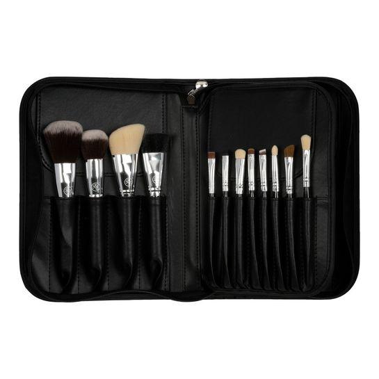 Boozy Cosmetics Boozy Cosmetics 24 pc Brush Case Black