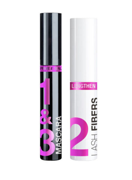 Wet n Wild Wet 'n Wild Lash-O-Matic! Fiber Mascara Extension Kit Very Black