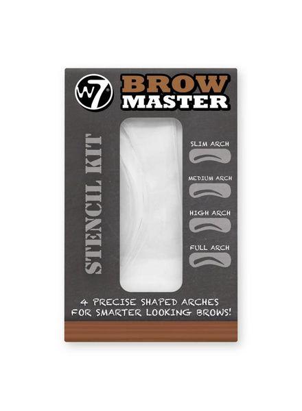 W7 W7 Brow Master Stencil Kit