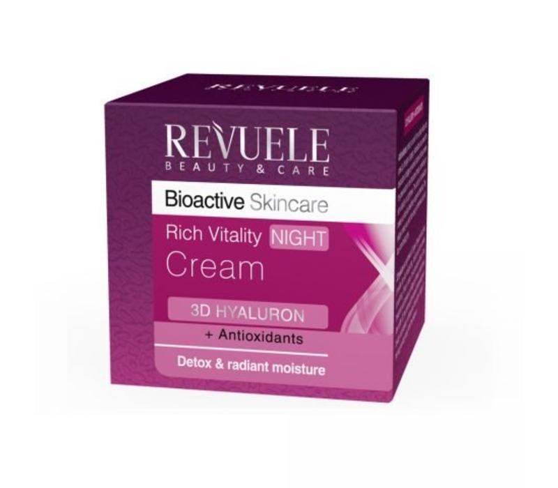 Revuele Bioactive Skin Care 3D Hyaluron Night Cream