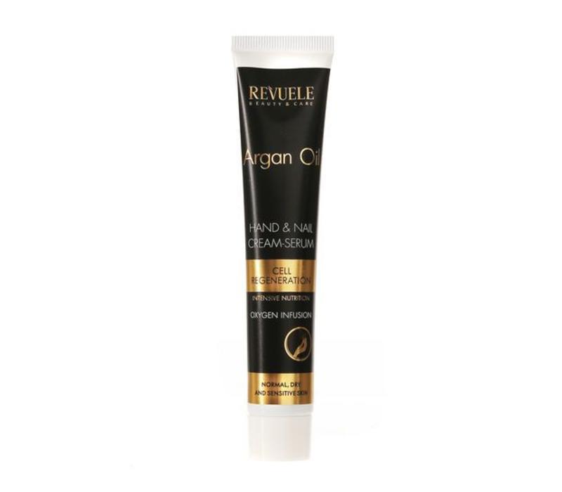 Revuele Argan Oil Hand & Nail Cream-Serum