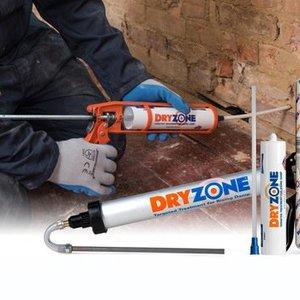 dryzone gel d 39 injection contre l 39 humidit ascensionnelle. Black Bedroom Furniture Sets. Home Design Ideas