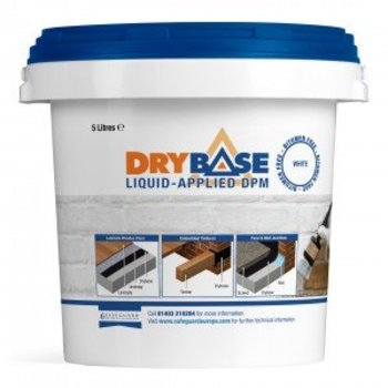 DRYBASE liquid applied DPM BLANC