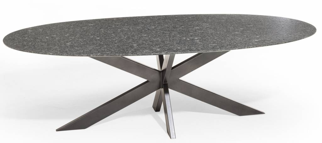Studio 20 graniet tafel ovaal boxspring matras for Tafel ovaal