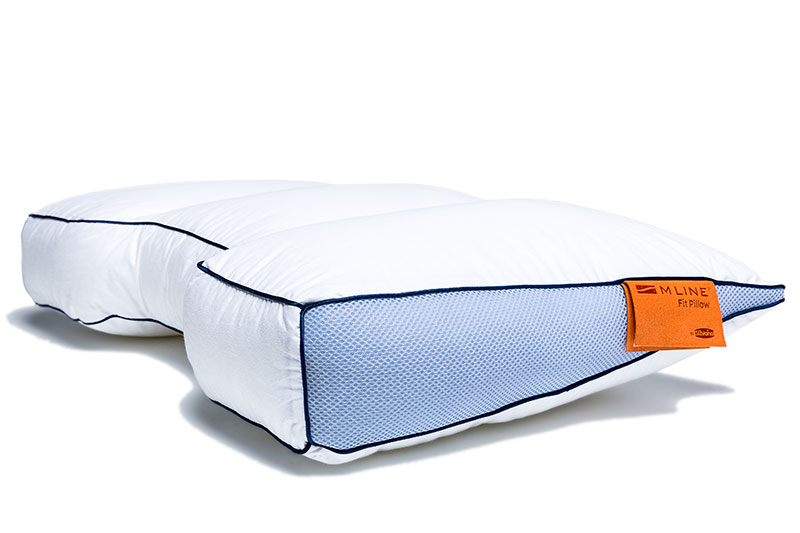 M Line Fit Pillow Kissen