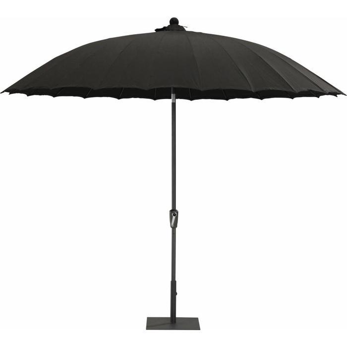 Parasol Shanghai black 300 cm