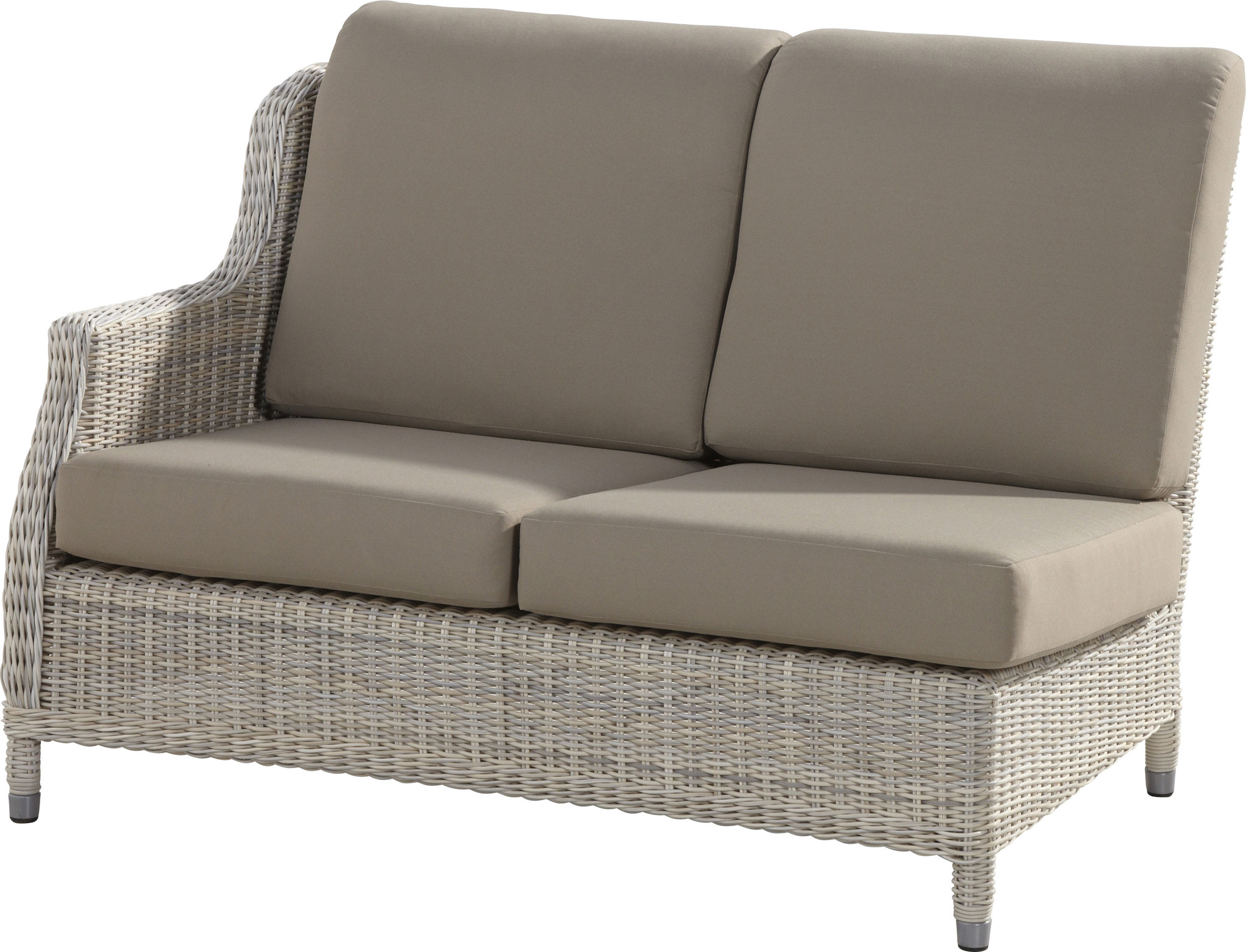 Brighton modular 2 seat sofa right