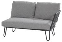 Premium 2-Sitzer-Sofa Armlehne Links